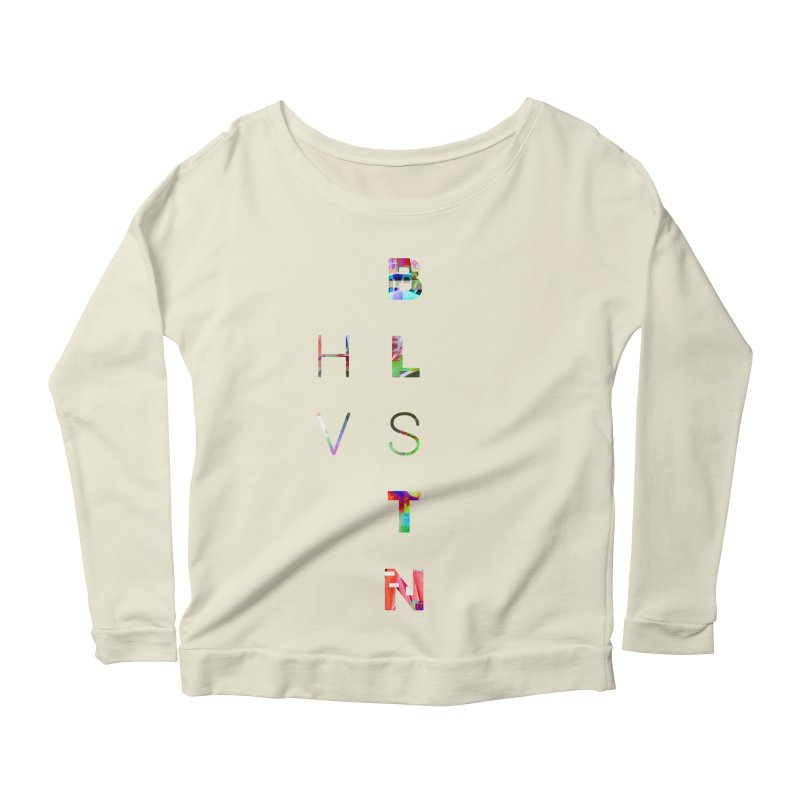 BLSTNHVSMINGLTCH Women's Longsleeve Scoopneck  by Gamble's Artist Shop