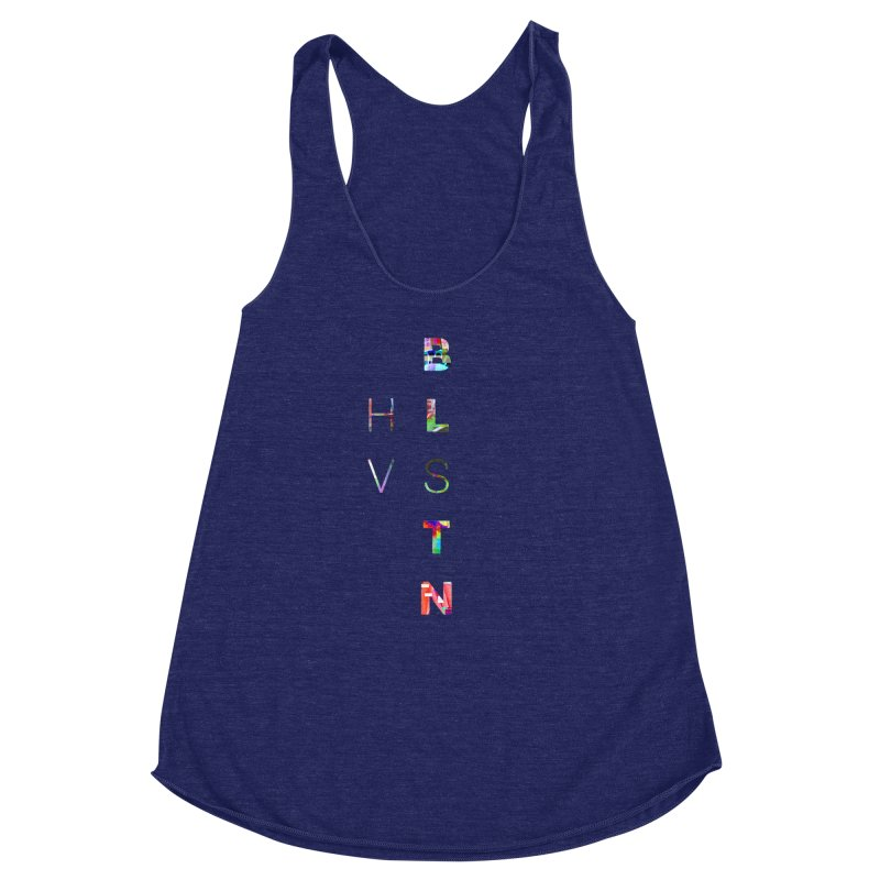 BLSTNHVSMINGLTCH Women's Racerback Triblend Tank by Gamble's Artist Shop