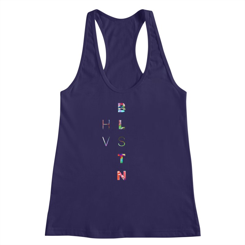 BLSTNHVSMINGLTCH Women's Racerback Tank by Gamble's Artist Shop