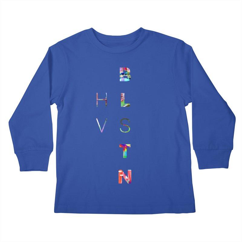 BLSTNHVSMINGLTCH Kids Longsleeve T-Shirt by Gamble's Artist Shop
