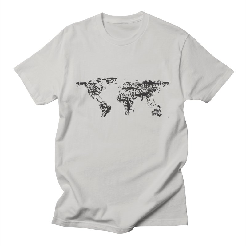 Weapons Wearth Men's Regular T-Shirt by Gamble's Artist Shop