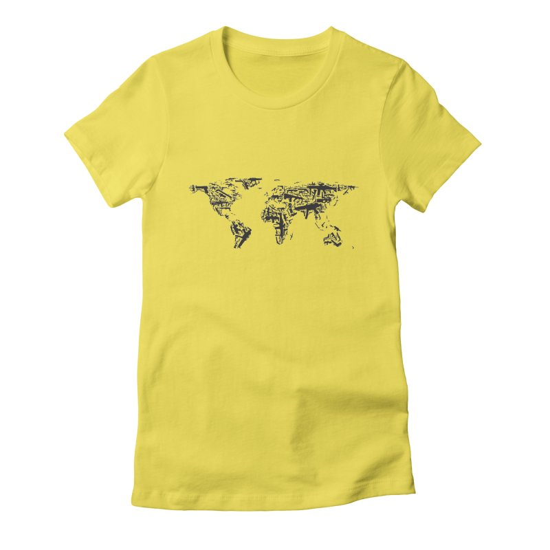 Weapons Wearth Women's Fitted T-Shirt by Gamble's Artist Shop