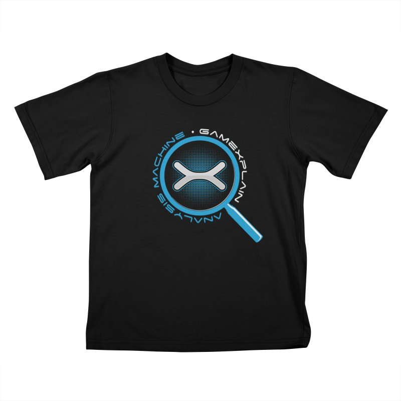 GameXplain Analysis Machine T-shirt Kids T-Shirt by GameXplain's Artist Shop