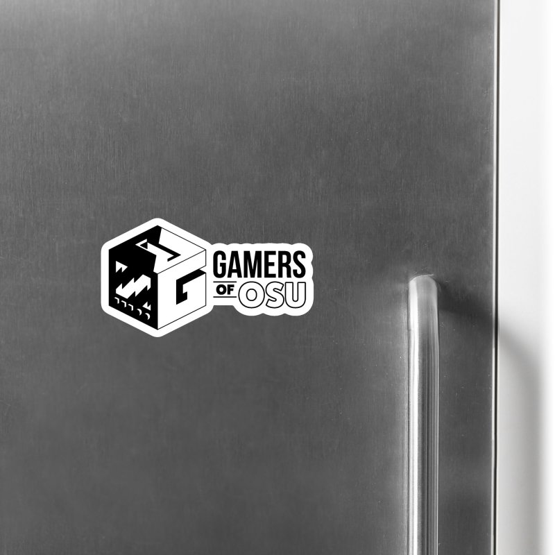 Gamers of OSU (Black Logo) Accessories Magnet by GamersOfOSU's Artist Shop