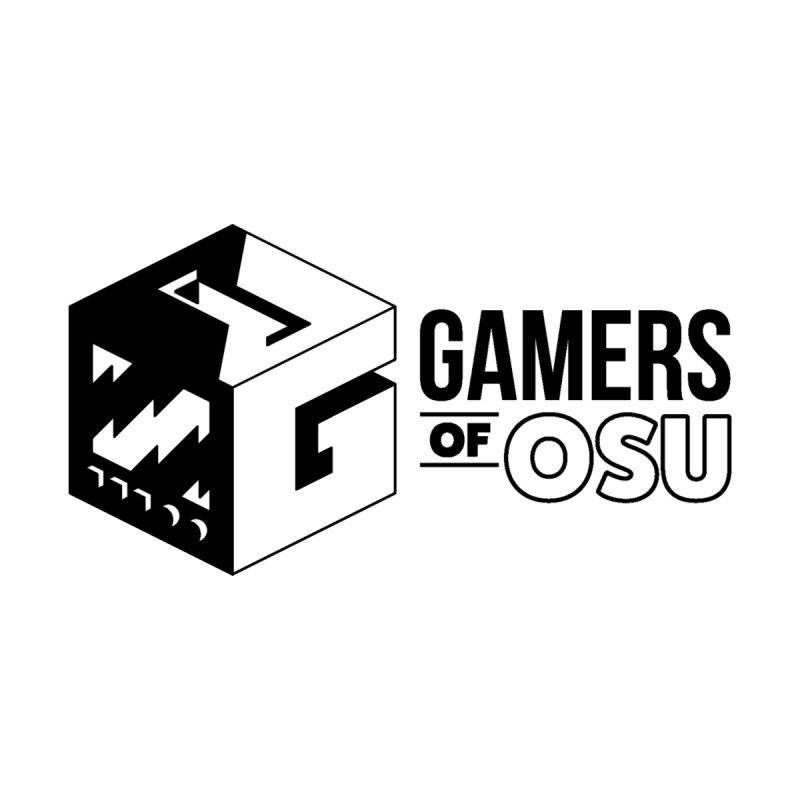 Gamers of OSU (Black Logo) Home Rug by GamersOfOSU's Artist Shop