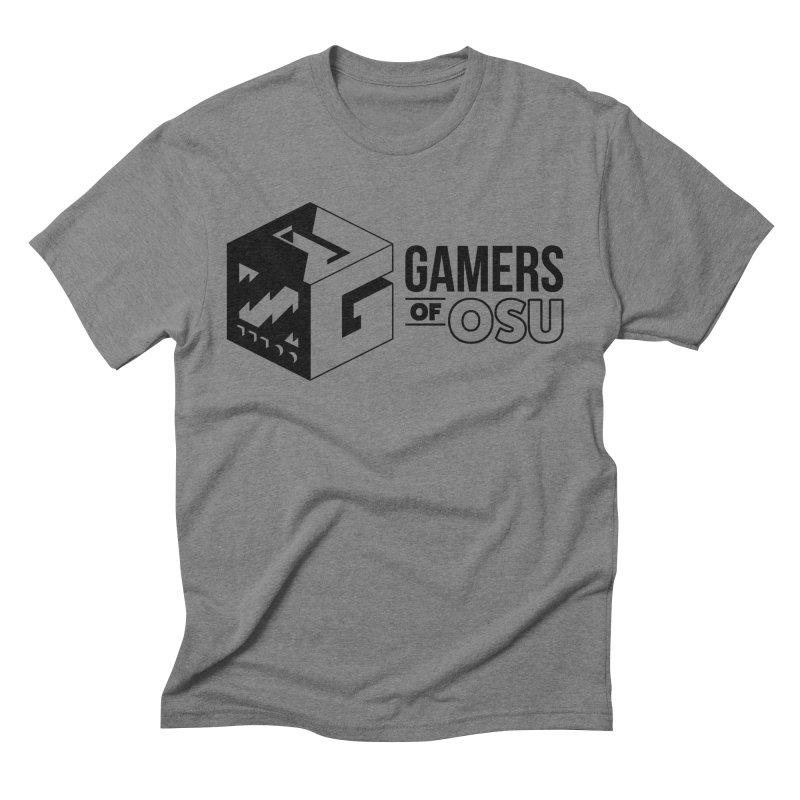 Gamers of OSU (Black Logo) Men's T-Shirt by GamersOfOSU's Artist Shop