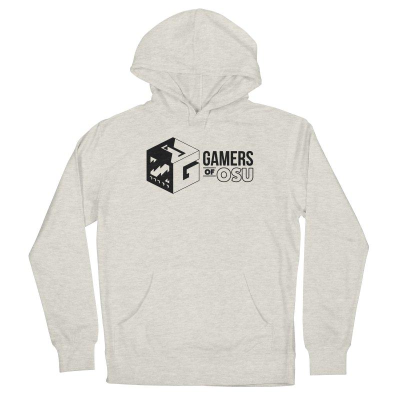 Gamers of OSU (Black Logo) Men's Pullover Hoody by GamersOfOSU's Artist Shop