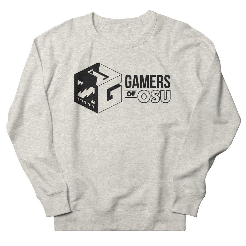 Gamers of OSU (Black Logo) Men's Sweatshirt by GamersOfOSU's Artist Shop