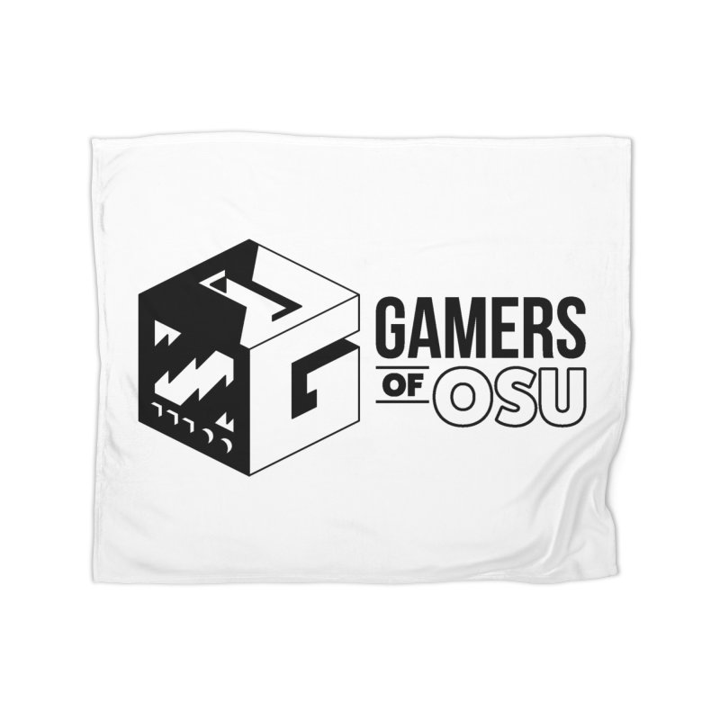 Gamers of OSU (Black Logo) Home Blanket by GamersOfOSU's Artist Shop
