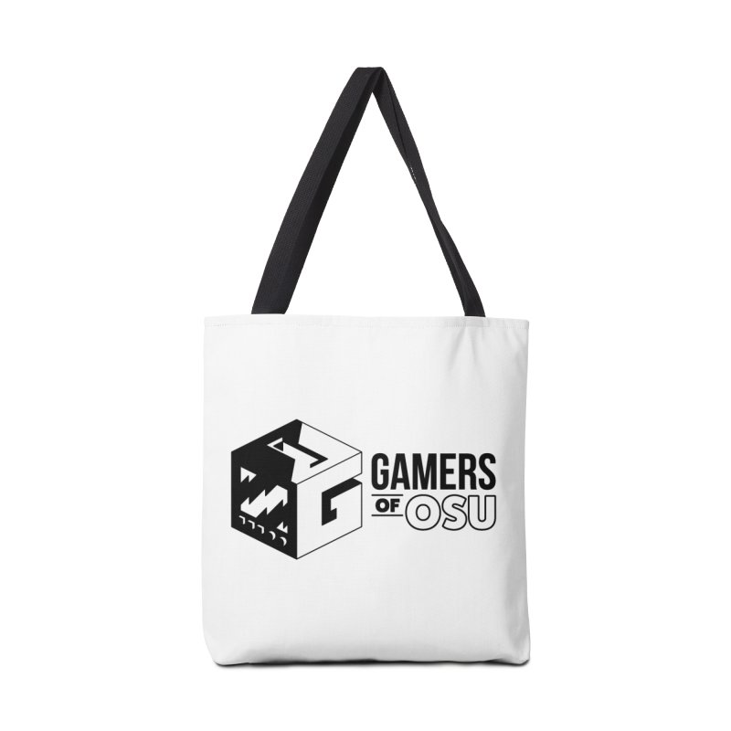 Gamers of OSU (Black Logo) Accessories Bag by GamersOfOSU's Artist Shop