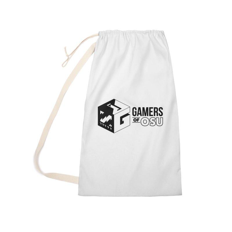 Gamers of OSU (Black Logo) Accessories Bag by GamersOfOSU's Artist Shop