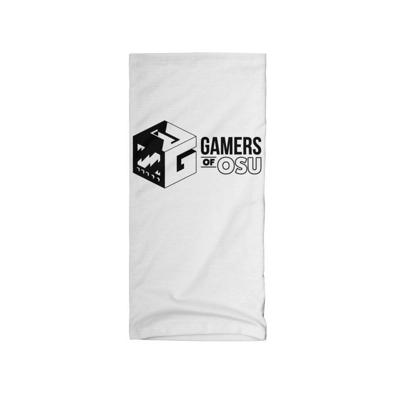 Gamers of OSU (Black Logo) Accessories Neck Gaiter by GamersOfOSU's Artist Shop