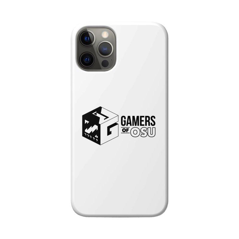 Gamers of OSU (Black Logo) Accessories Phone Case by GamersOfOSU's Artist Shop