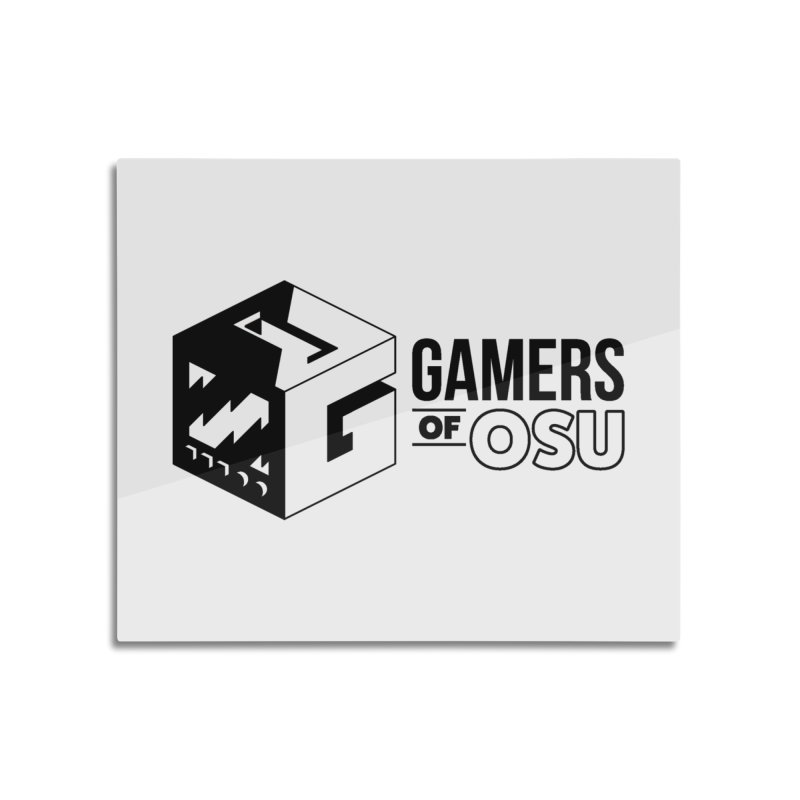 Gamers of OSU (Black Logo) Home Mounted Acrylic Print by GamersOfOSU's Artist Shop
