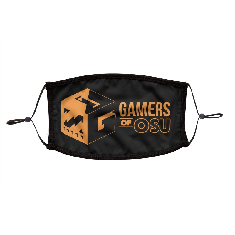 Gamers of OSU (Orange Logo) Accessories Face Mask by GamersOfOSU's Artist Shop