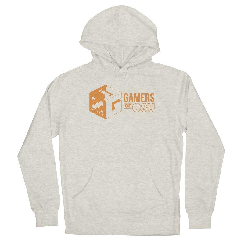 Gamers of OSU (Orange Logo) Men's Pullover Hoody by GamersOfOSU's Artist Shop
