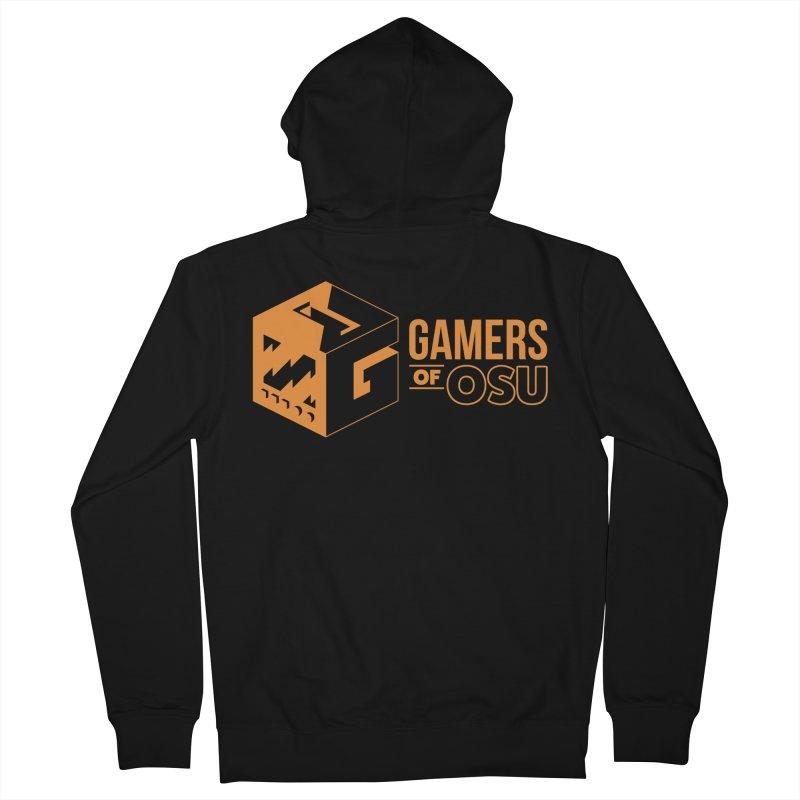 Gamers of OSU (Orange Logo) Men's Zip-Up Hoody by GamersOfOSU's Artist Shop