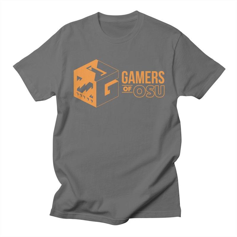 Gamers of OSU (Orange Logo) Men's T-Shirt by GamersOfOSU's Artist Shop