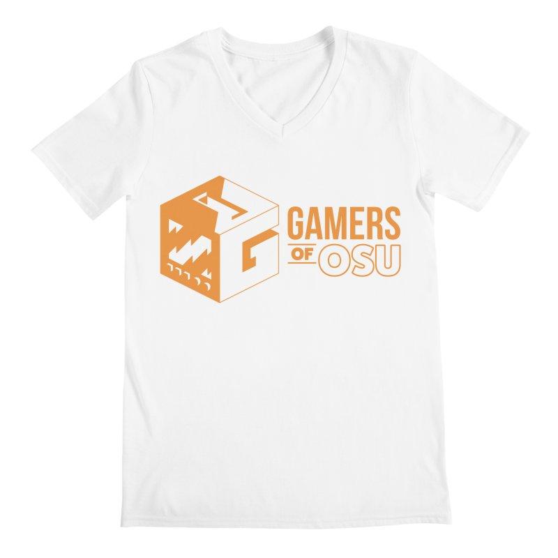 Gamers of OSU (Orange Logo) Men's V-Neck by GamersOfOSU's Artist Shop