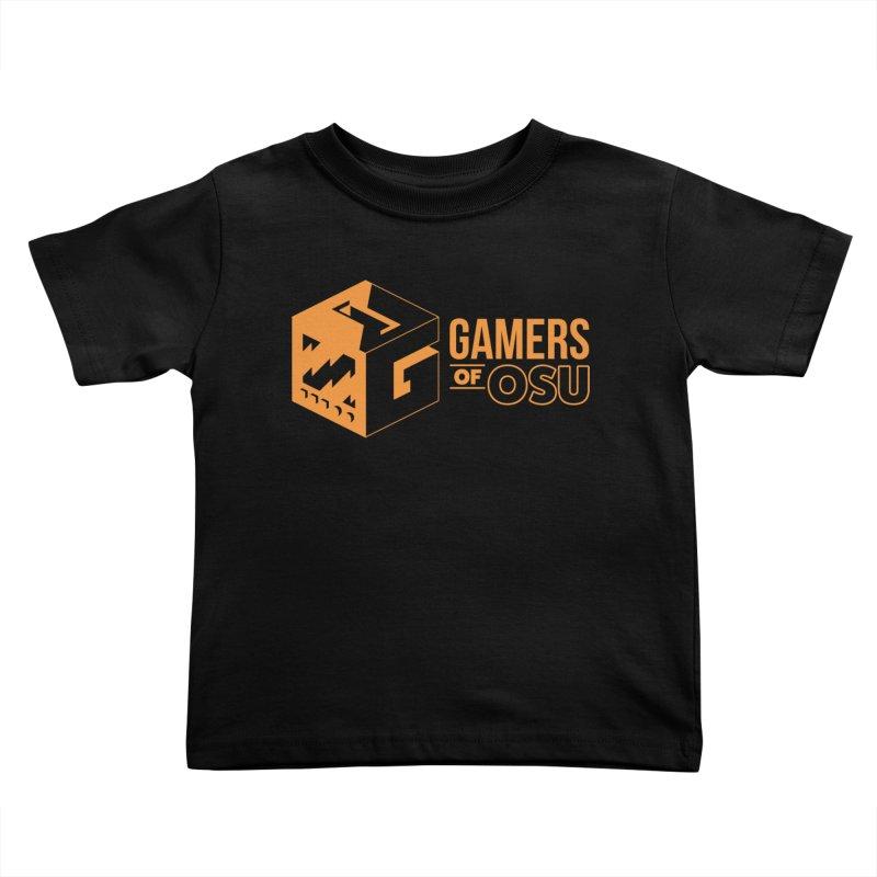 Gamers of OSU (Orange Logo) Kids Toddler T-Shirt by GamersOfOSU's Artist Shop