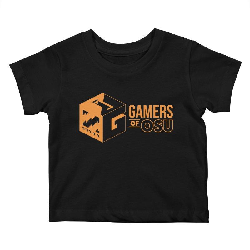 Gamers of OSU (Orange Logo) Kids Baby T-Shirt by GamersOfOSU's Artist Shop