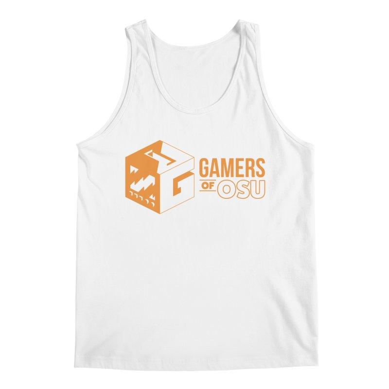 Gamers of OSU (Orange Logo) Men's Tank by GamersOfOSU's Artist Shop