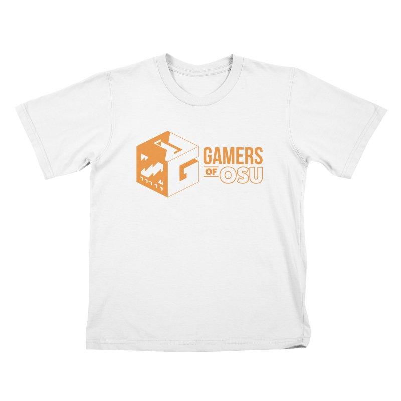 Gamers of OSU (Orange Logo) Kids T-Shirt by GamersOfOSU's Artist Shop