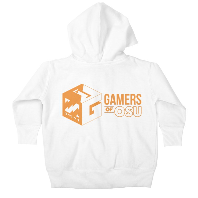 Gamers of OSU (Orange Logo) Kids Baby Zip-Up Hoody by GamersOfOSU's Artist Shop