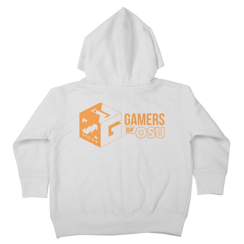 Gamers of OSU (Orange Logo) Kids Toddler Zip-Up Hoody by GamersOfOSU's Artist Shop