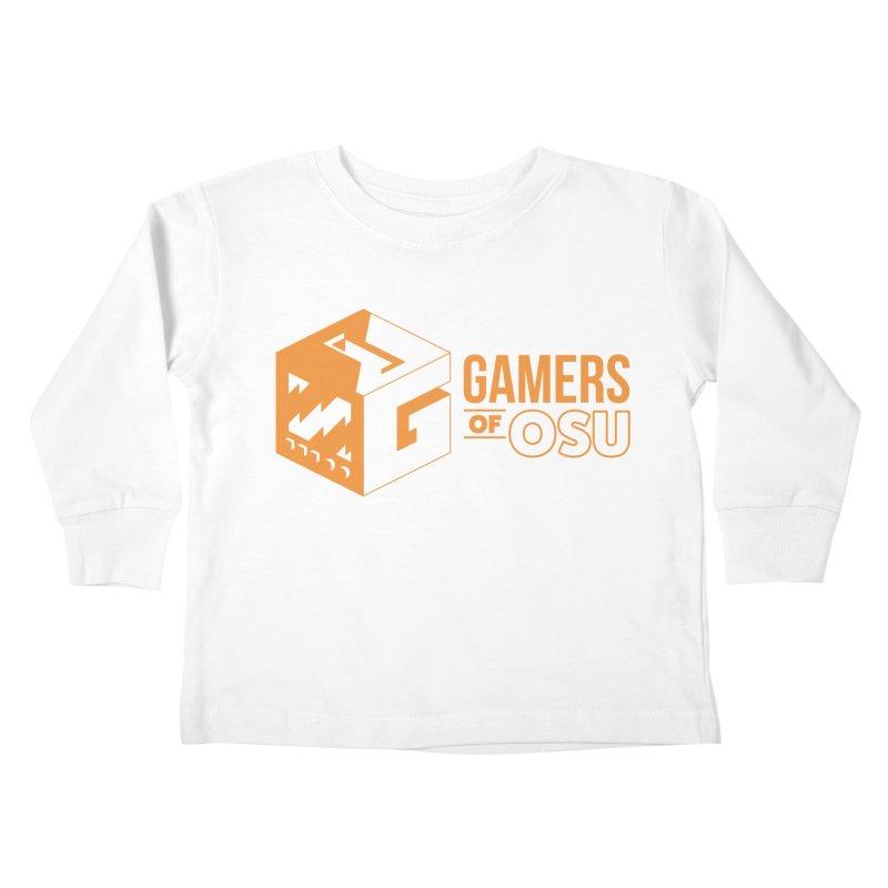 Gamers of OSU (Orange Logo) Kids Toddler Longsleeve T-Shirt by GamersOfOSU's Artist Shop