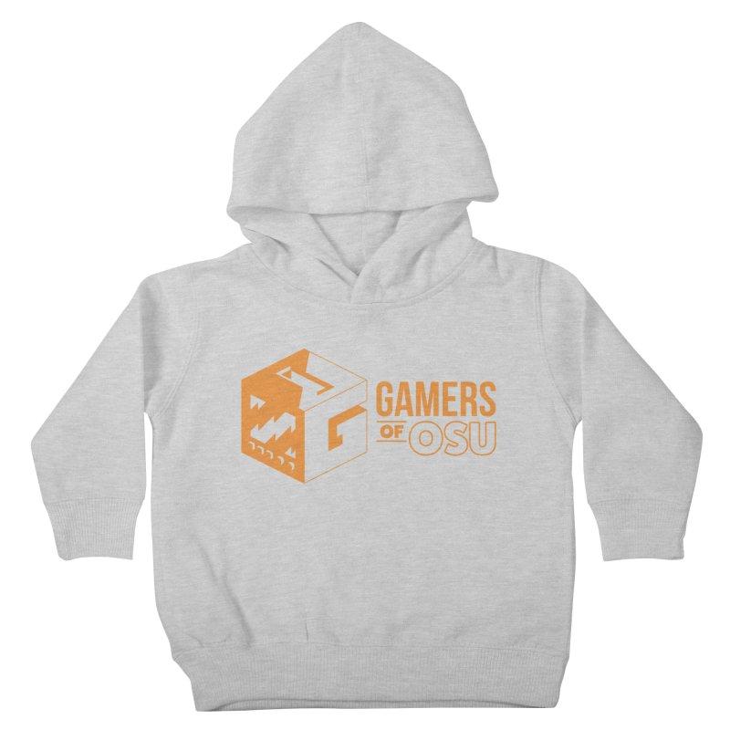 Gamers of OSU (Orange Logo) Kids Toddler Pullover Hoody by GamersOfOSU's Artist Shop