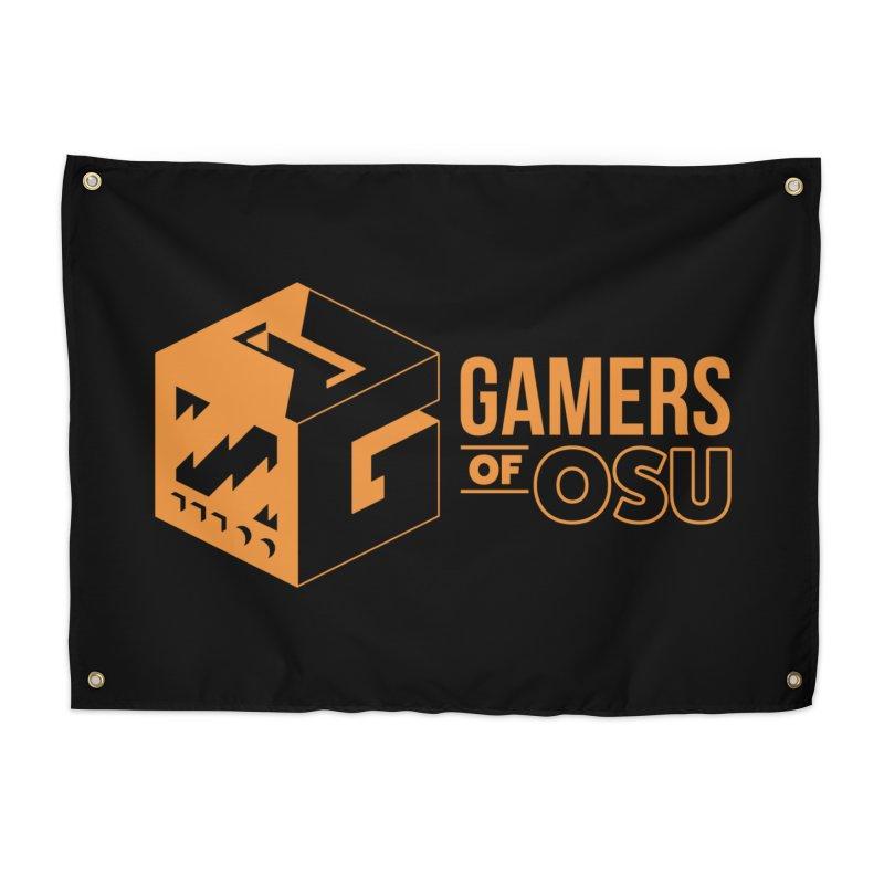 Gamers of OSU (Orange Logo) Home Tapestry by GamersOfOSU's Artist Shop