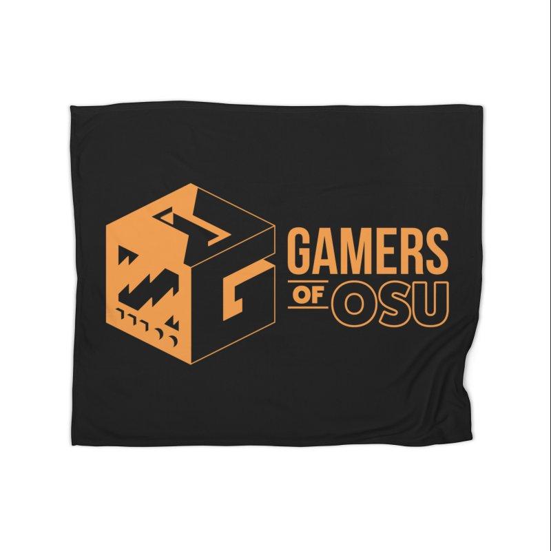 Gamers of OSU (Orange Logo) Home Blanket by GamersOfOSU's Artist Shop