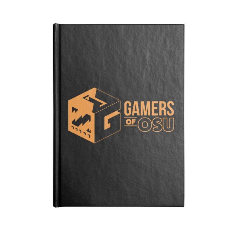Gamers of OSU (Orange Logo) Accessories Notebook by GamersOfOSU's Artist Shop