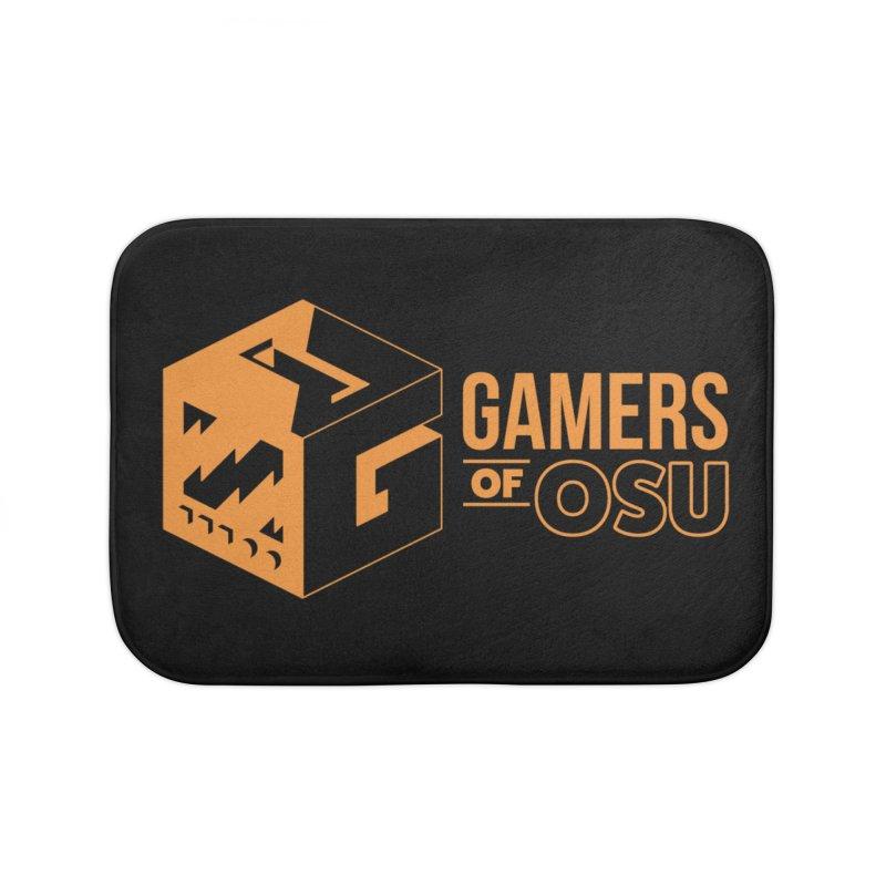 Gamers of OSU (Orange Logo) Home Bath Mat by GamersOfOSU's Artist Shop