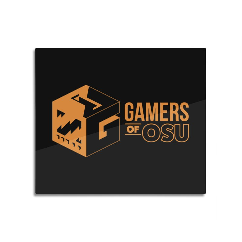 Gamers of OSU (Orange Logo) Home Mounted Acrylic Print by GamersOfOSU's Artist Shop