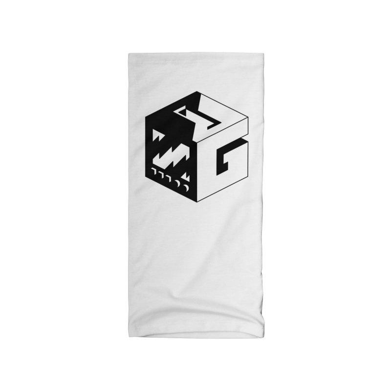 GOSU Cube (Black Logo) Accessories Neck Gaiter by GamersOfOSU's Artist Shop