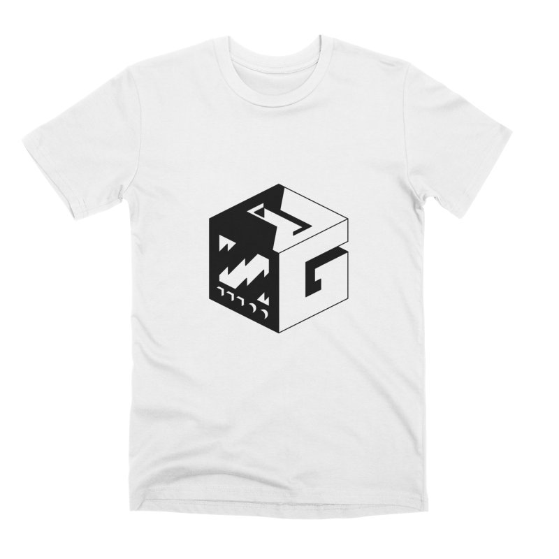 GOSU Cube (Black Logo) Men's T-Shirt by GamersOfOSU's Artist Shop