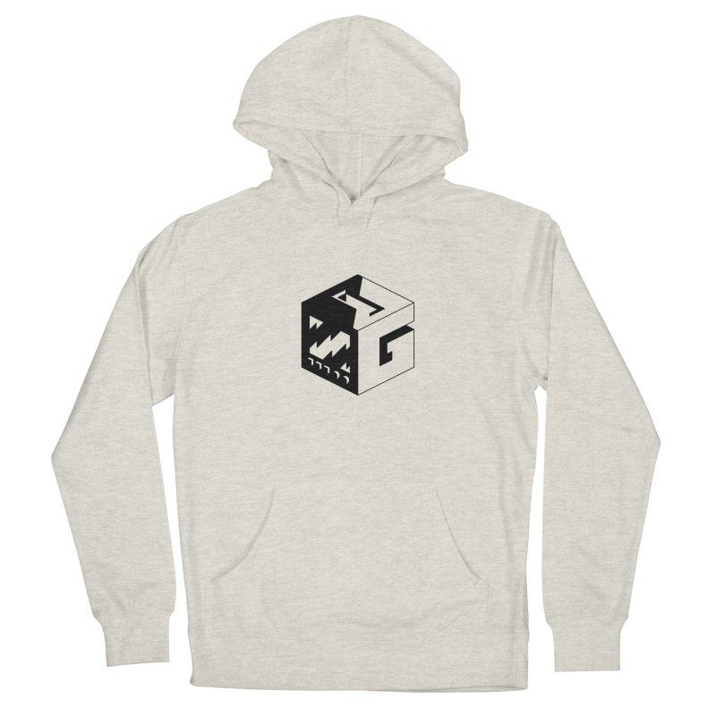 GOSU Cube (Black Logo) Men's Pullover Hoody by GamersOfOSU's Artist Shop