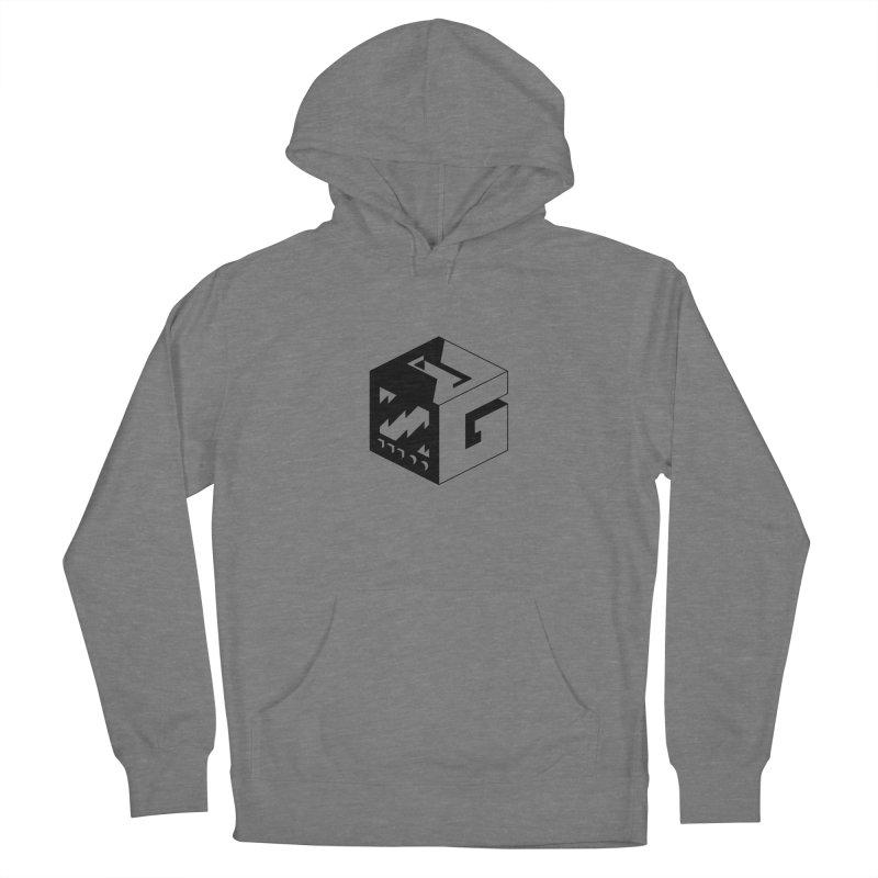GOSU Cube (Black Logo) Women's Pullover Hoody by GamersOfOSU's Artist Shop