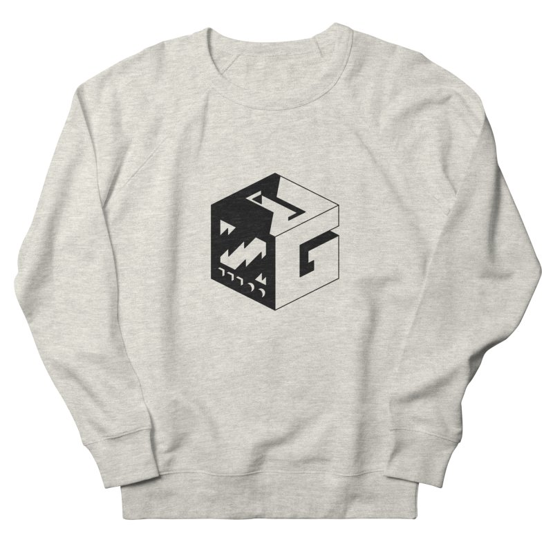 GOSU Cube (Black Logo) Women's Sweatshirt by GamersOfOSU's Artist Shop
