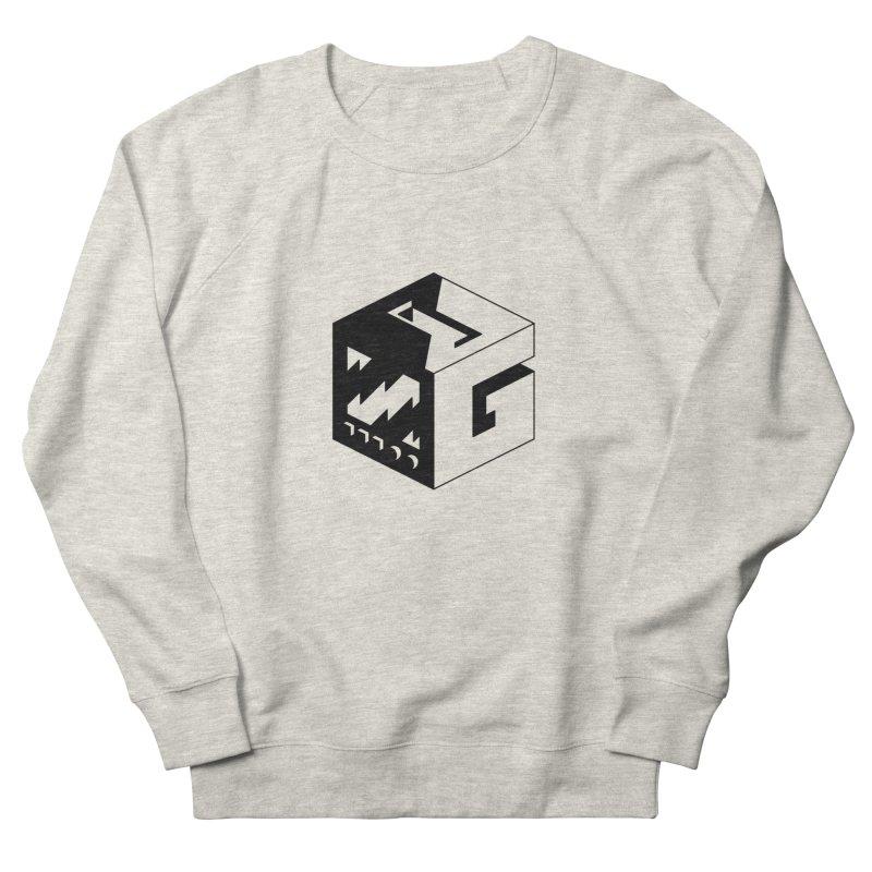GOSU Cube (Black Logo) Men's Sweatshirt by GamersOfOSU's Artist Shop