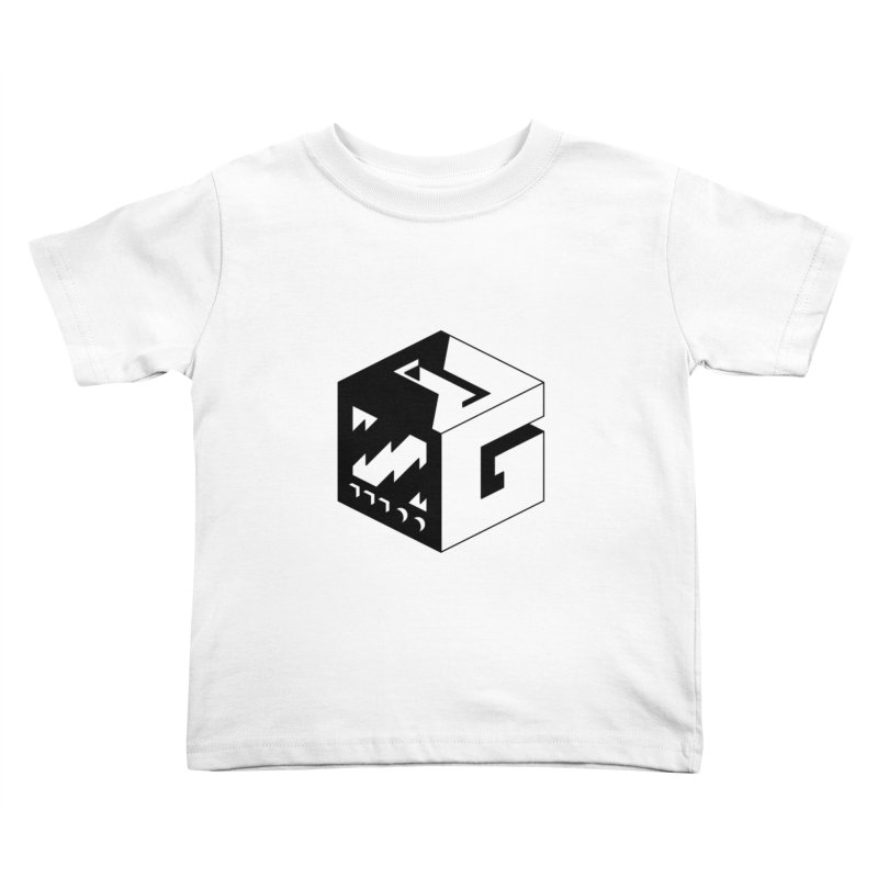 GOSU Cube (Black Logo) Kids Toddler T-Shirt by GamersOfOSU's Artist Shop