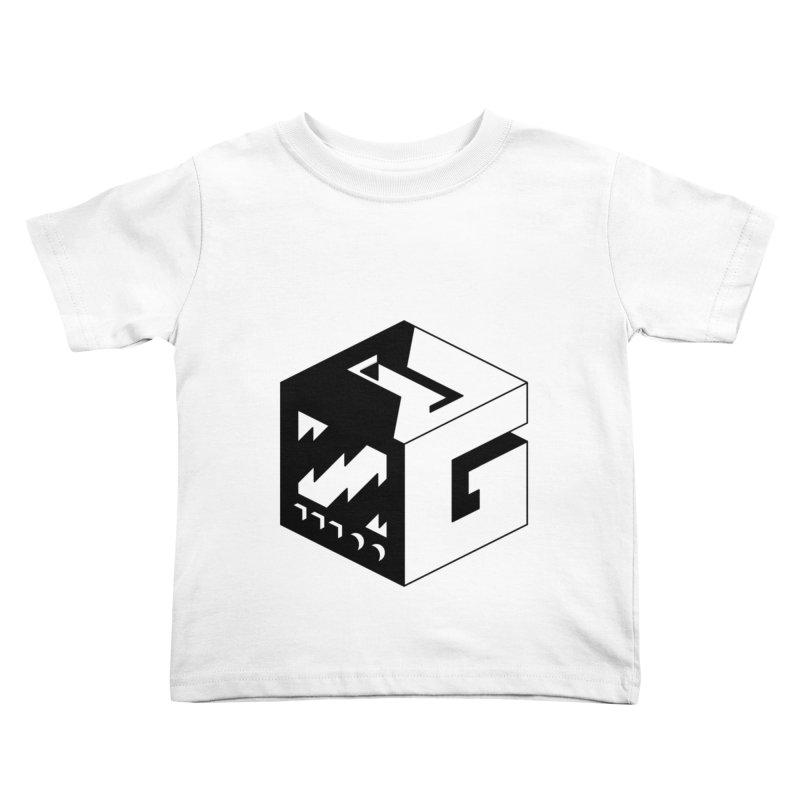 GOSU Cube (Black Logo) Kids Toddler T-Shirt by GamersOfOSU's Artist Shop