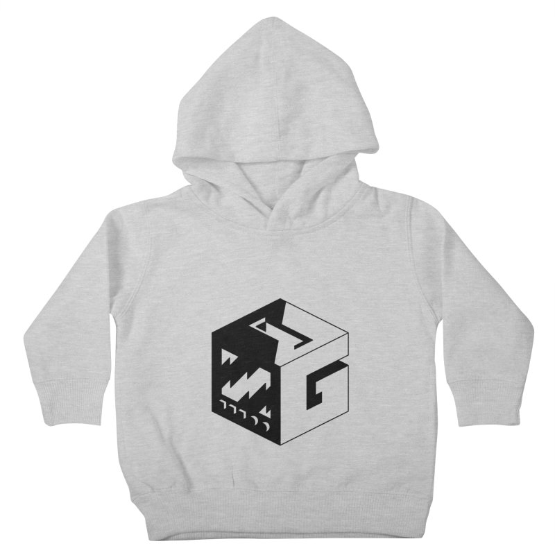 GOSU Cube (Black Logo) Kids Toddler Pullover Hoody by GamersOfOSU's Artist Shop
