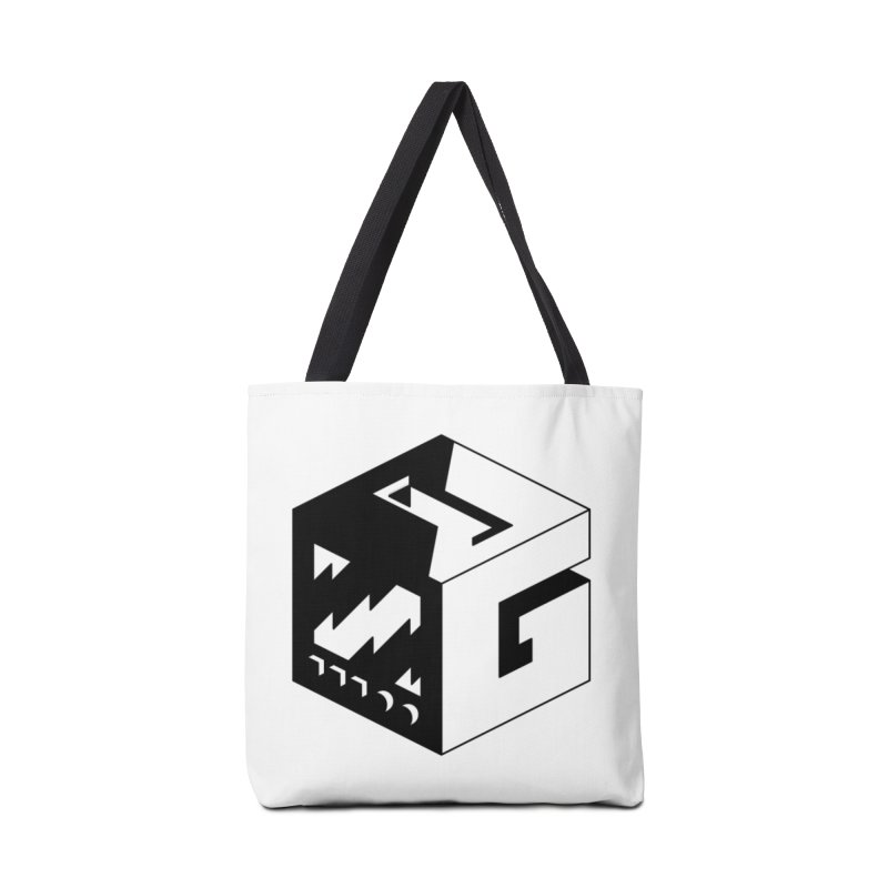 GOSU Cube (Black Logo) Accessories Bag by GamersOfOSU's Artist Shop