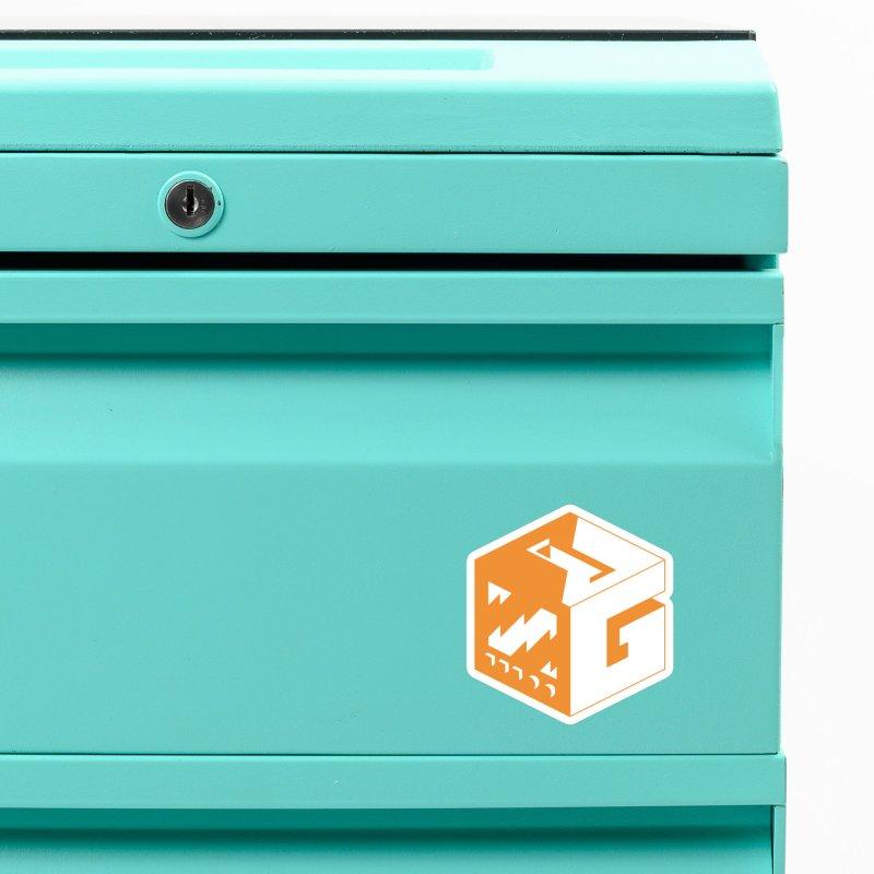 GOSU Cube (Orange Logo) Accessories Magnet by GamersOfOSU's Artist Shop