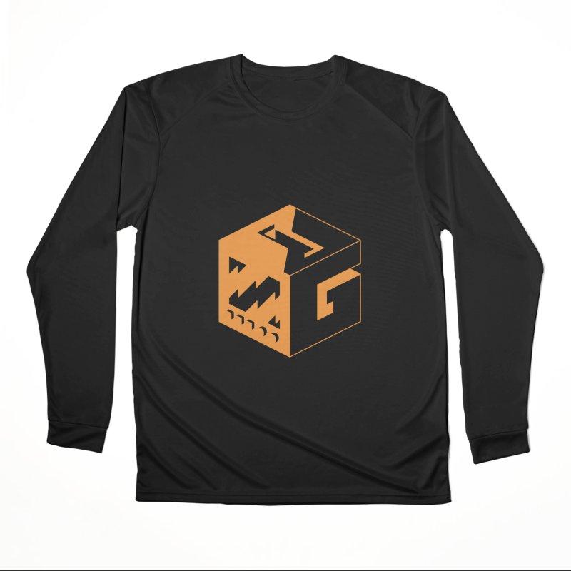 GOSU Cube (Orange Logo) Women's Longsleeve T-Shirt by GamersOfOSU's Artist Shop