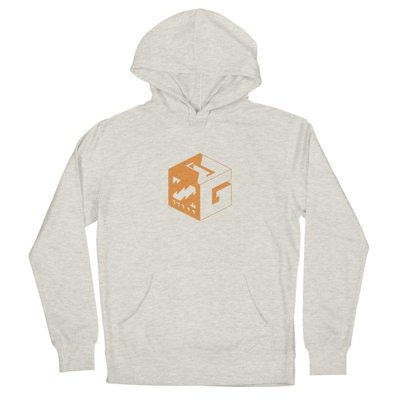 GOSU Cube (Orange Logo) Men's Pullover Hoody by GamersOfOSU's Artist Shop