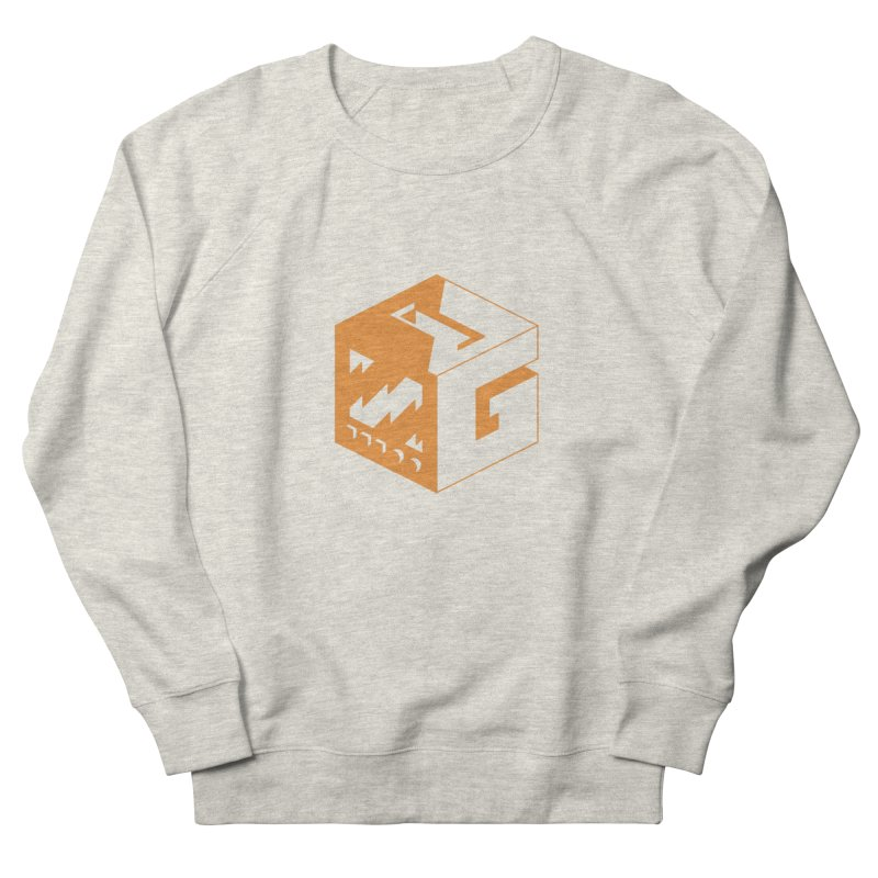 GOSU Cube (Orange Logo) Men's Sweatshirt by GamersOfOSU's Artist Shop